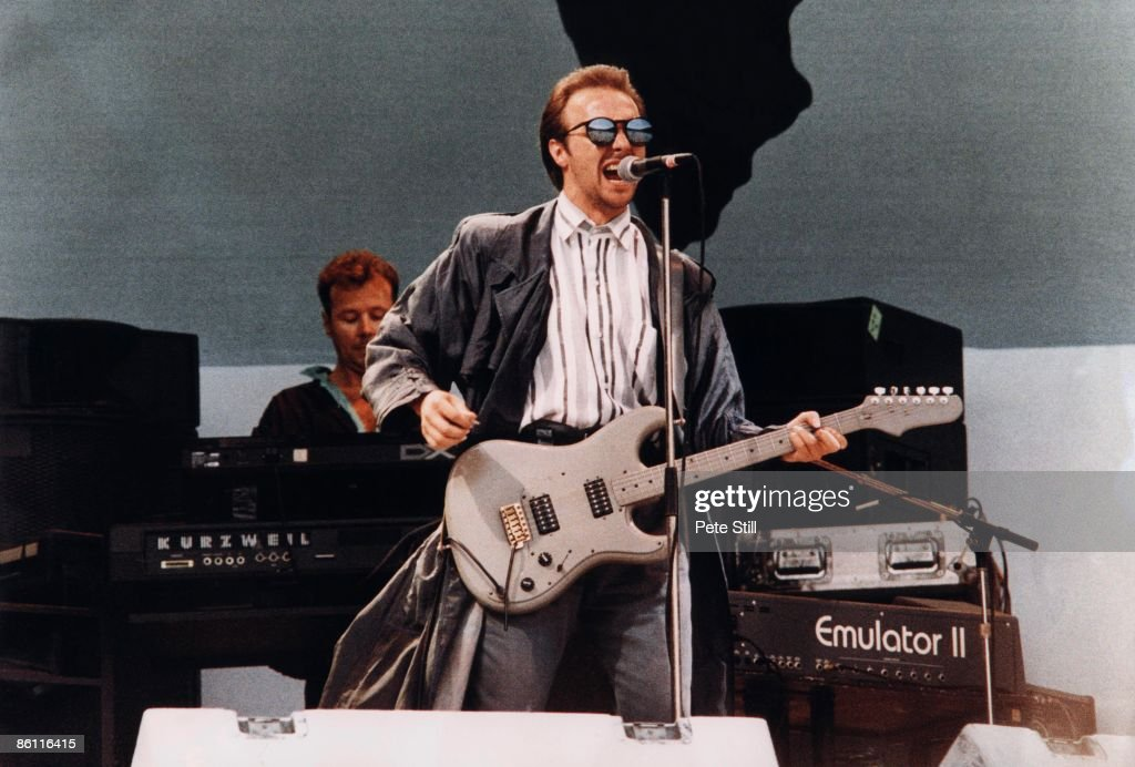 WEMBLEY Photo of LIVE AID and ULTRAVOX at Live Aid