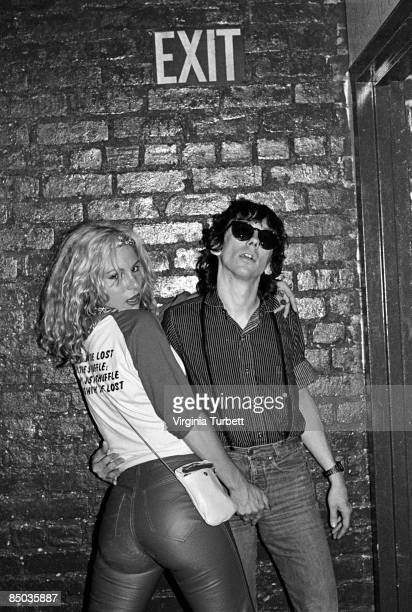 GO Photo of LORDS OF THE NEW CHURCH and DEAD BOYS and Stiv BATORS Sable Starr and Stiv Bators of Dead Boys at The Whisky Club