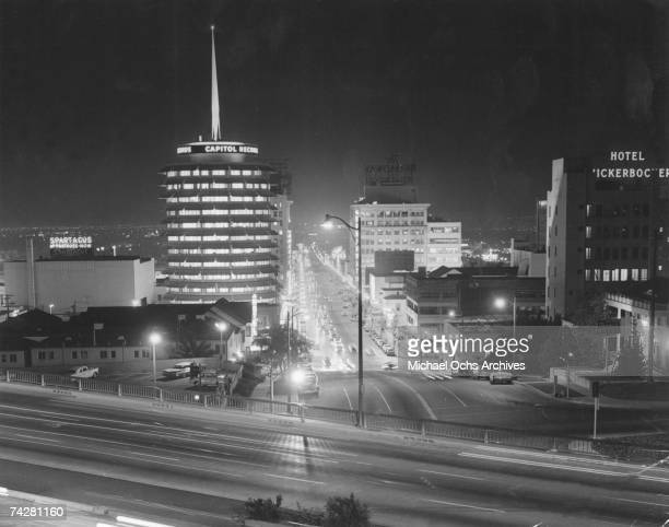 Photo of Los Angeles 003 Hollywood Capitol Records Photo by Michael Ochs Archives/Getty Images