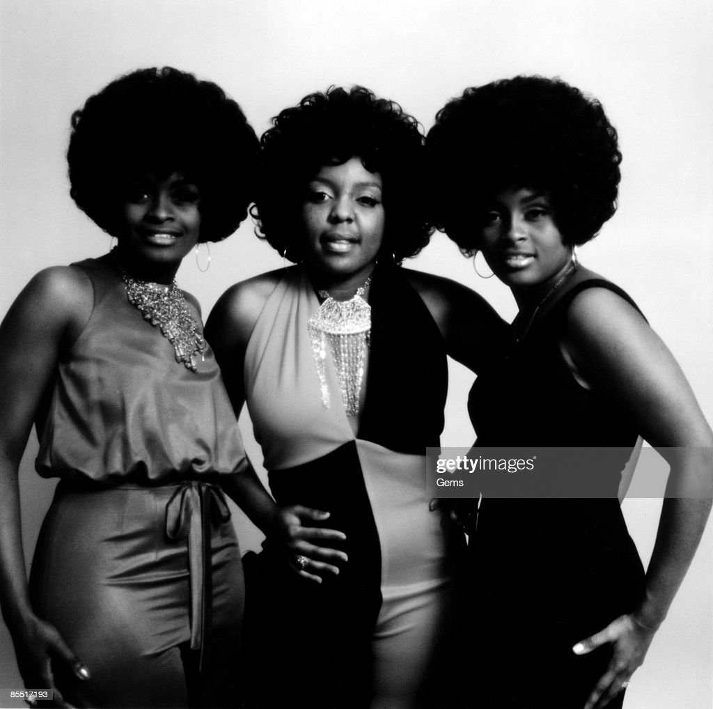 Photo of LOVE UNLIMITED; Posed group portrait - Glodean White, Linda James and Diane Taylor