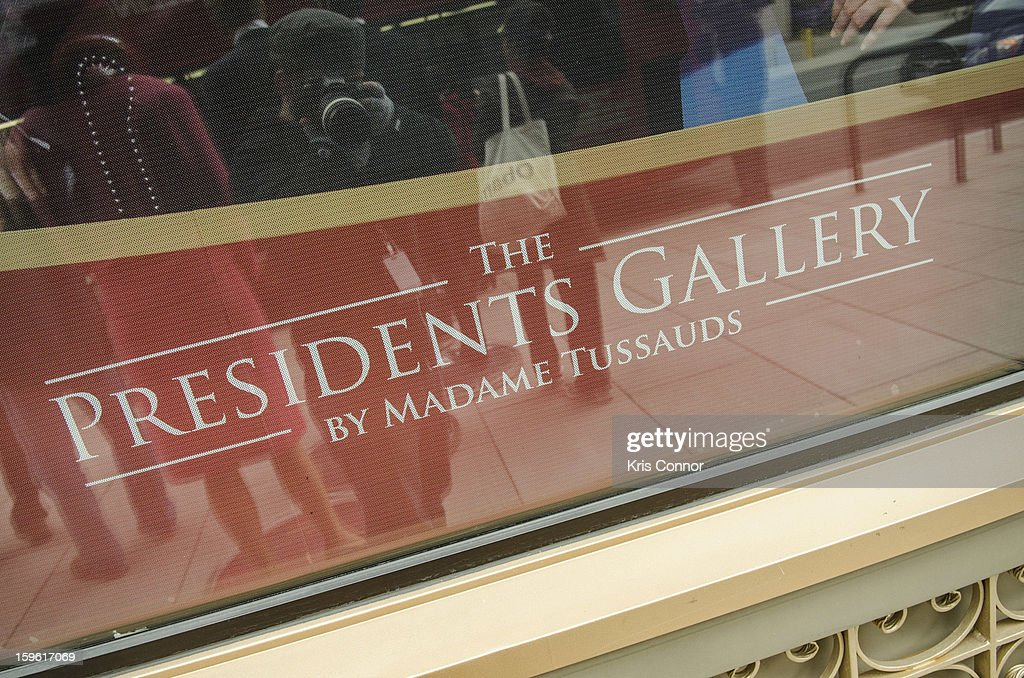 A photo of Madame Tussauds DC during their Presidential Wax Figures Bus Tour on January 17, 2013 in Washington, United States.