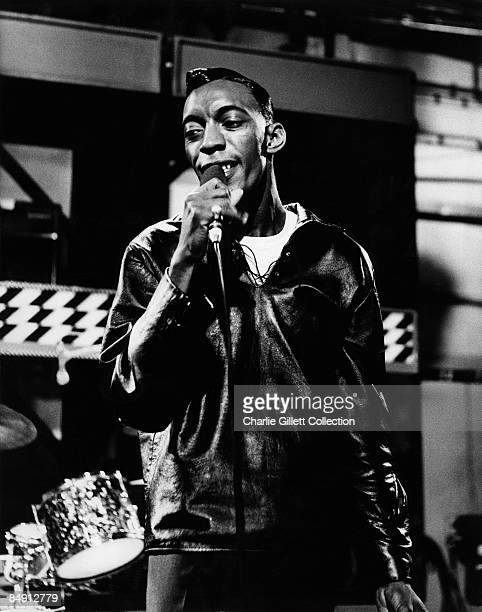 Photo of Major LANCE Singing live on TV show Ready Steady Go at Wembley Studios