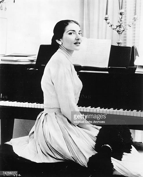 Photo of Maria Callas Photo by Michael Ochs Archives/Getty Images