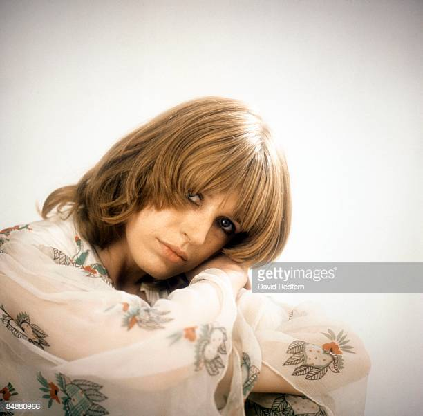 Photo of Marianne FAITHFULL wearing Ossie Clark dress