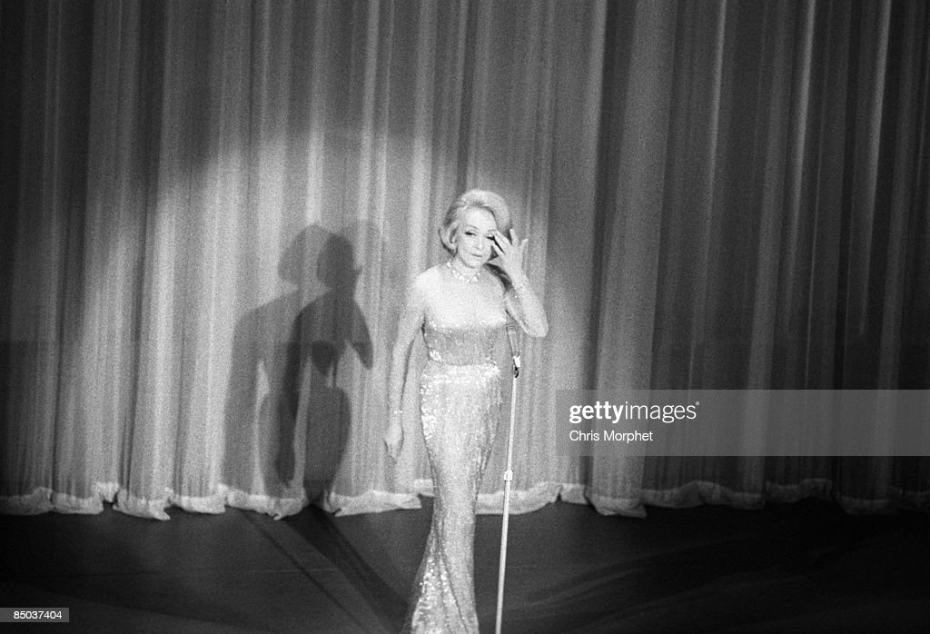 Photo of Marlene DIETRICH; performing at Golders Green Hippodrome