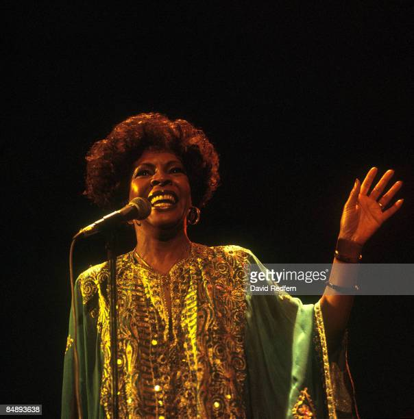 Photo of Martha REEVES Martha Reeves performing on stage