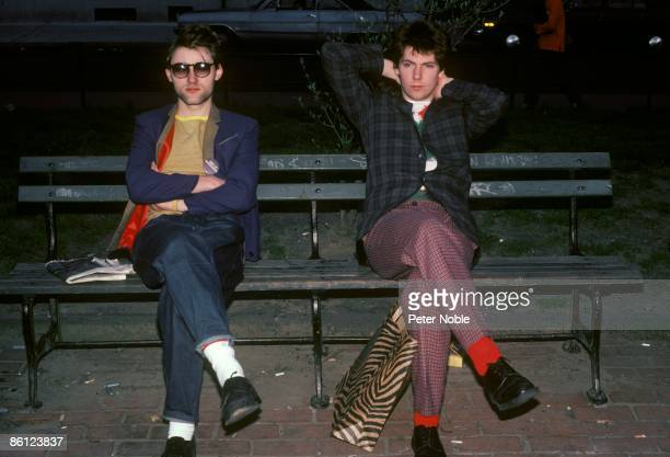 Photo of Martin ATKINS and JAH WOBBLE and PUBLIC IMAGE LTD Jah Wobble Martin Atkins