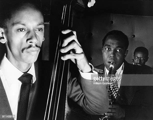 Photo of Max ROACH and Tommy POTTER and Charlie PARKER w/ Tommy Potter Max Roach