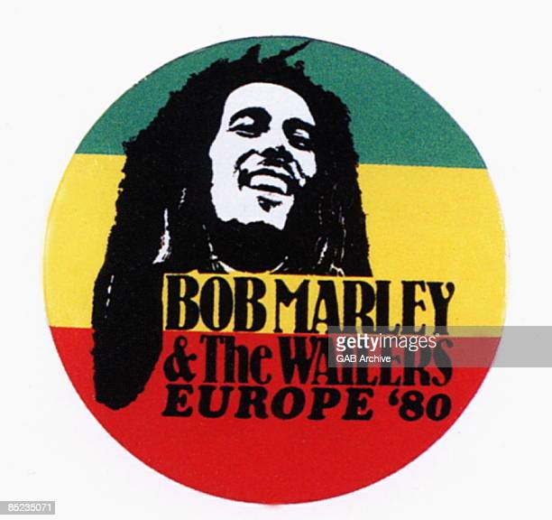 Photo of MEMORABILIA and Bob MARLEY Bob Marley memorabilia 1980 European Tour badge