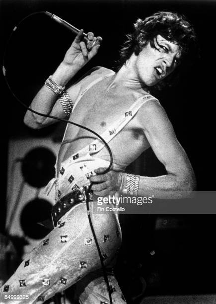 Photo of Mick JAGGER and ROLLING STONES of the Rolling Stones performing live onstage at Manchester BelleVue Musicbrainz...