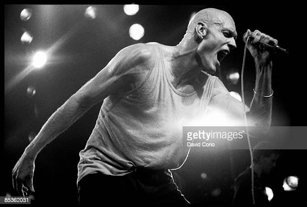 LYCEUM Photo of MIDNIGHT OIL Midnight Oil performing at The Lyceum London1980