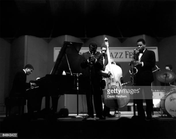 Newport Jazz Festival 1967 Artist Miles Davis with Herbie Hancock Ron Carter Wayne Shorter