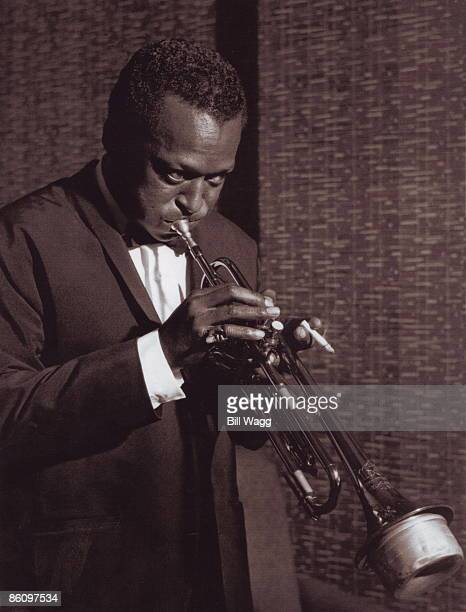 HALL Photo of Miles DAVIS Miles Davis performing on stage