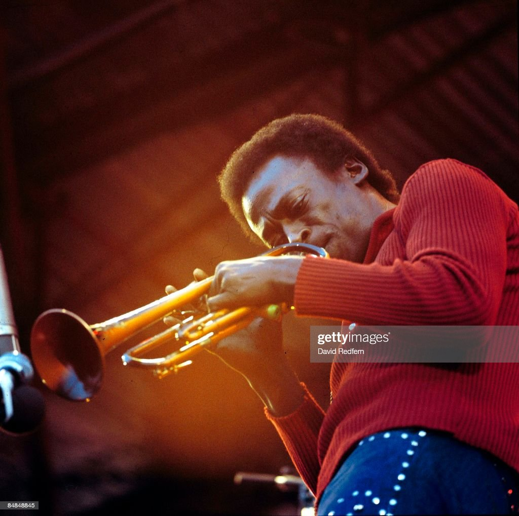FESTIVAL Photo of Miles DAVIS, performing live onstage
