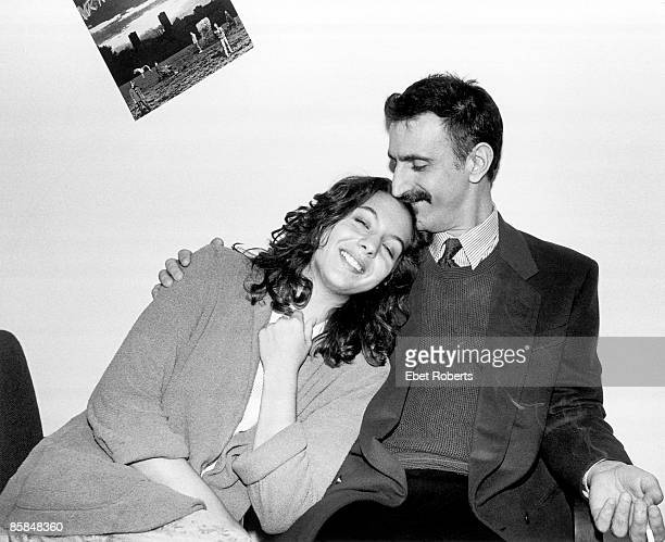 UNSPECIFIED CIRCA 2000 Photo of Moon Unit ZAPPA and Frank ZAPPA