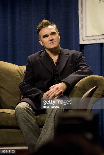 TEXAS Photo of MORRISSEY Morrissey during SXSW at the Austin Convention Center in Austin TX