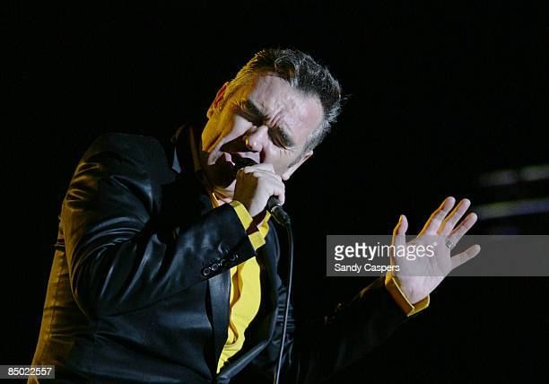 ZENITH Photo of MORRISSEY performing live onstage