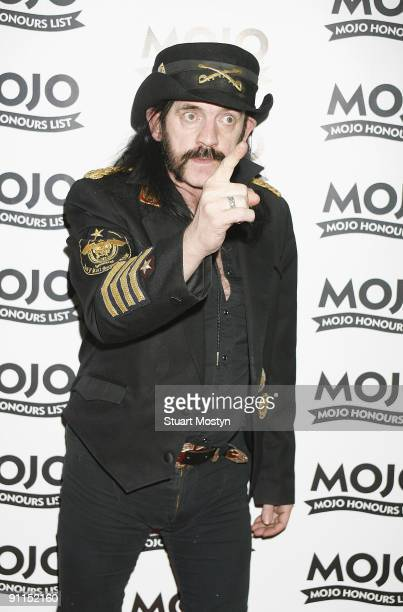 BREWERY Photo of MOTORHEAD and LEMMY of Motorhead posed arriving at awards