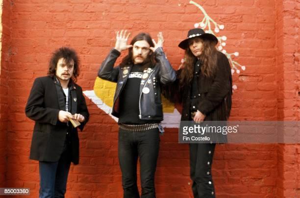 Photo of MOTORHEAD Phil Taylor Lemmy Fast Eddie Clarke