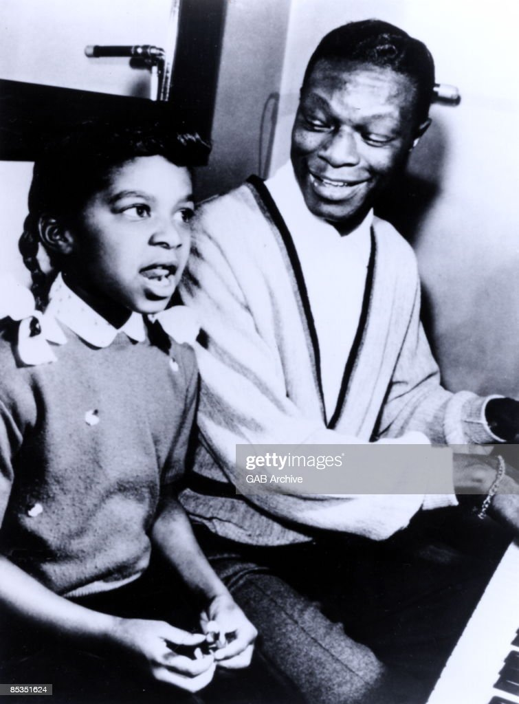 Photo of Natalie COLE and Nat King COLE; with daughter <a gi-track='captionPersonalityLinkClicked' href=/galleries/search?phrase=Natalie+Cole&family=editorial&specificpeople=201839 ng-click='$event.stopPropagation()'>Natalie Cole</a> circa 1960