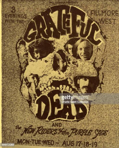WEST Photo of New Riders of the Purple Sage and GRATEFUL DEAD and CONCERT POSTERS Grateful Dead and the New Riders of the Purple Sage