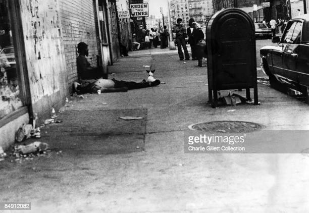 Photo of NEW YORK CITY Street scene East Village New York City