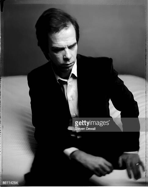 Photo of Nick CAVE Posed studio portrait of Nick Cave