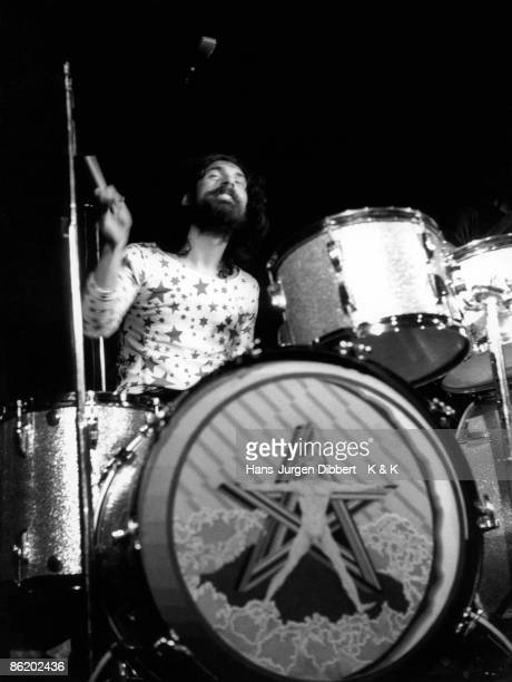 Photo of Nick MASON and PINK FLOYD Nick Mason performing live onstage Photo Dr HJ Dibbert