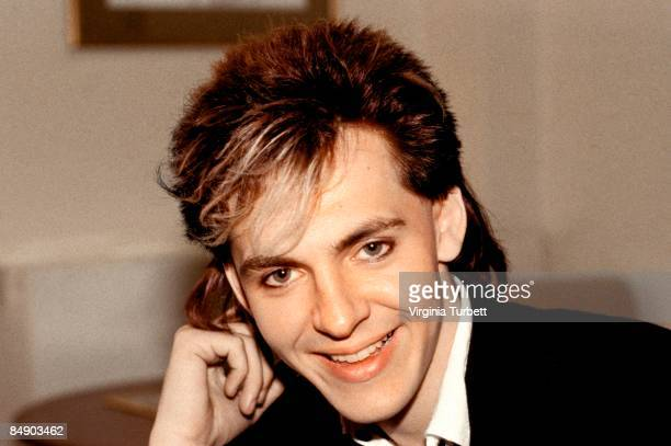 BIRMINGHAM Photo of Nick RHODES and DURAN DURAN Nick Rhodes posed