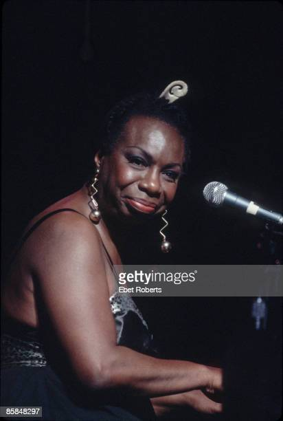 Photo of Nina SIMONE Nina Simone performing at the Beacon Theatre in New York City on May 1 1993