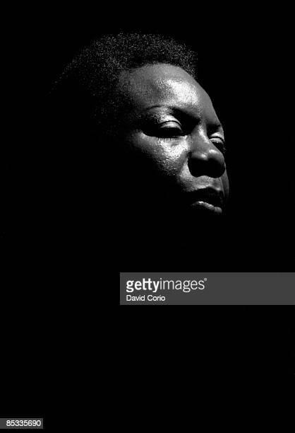 S Photo of Nina SIMONE Nina Simone performing on stage portrait