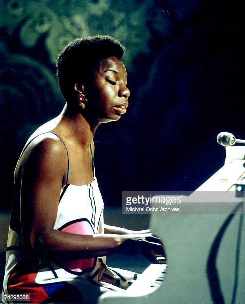 Photo of Nina Simone Photo by Michael Ochs Archives/Getty Images