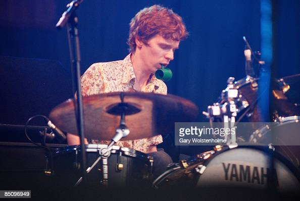 SOUND Photo of NO AGE and Dean SPUNT Drummer Dean Spunt performing on stage