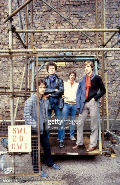 Photo of OMD posed on the site of the Cavern Club