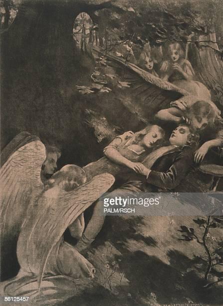Photo of OPERA PAINTINGS Hansel Gretel Act II