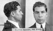FBI photo of organized crime boss and ''La Cosa Nostra'' leader Charles ''Lucky'' Luciano