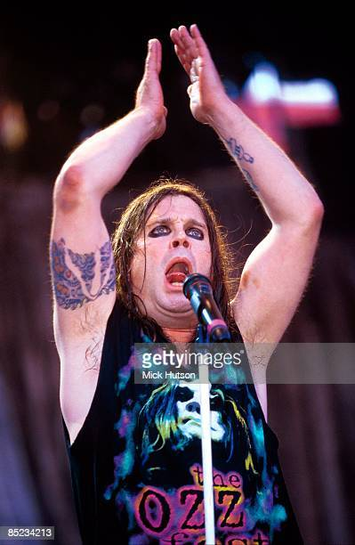 USA Photo of Ozzy OSBOURNE and BLACK SABBATH performing live onstage on Ozzfest Tour with Black Sabbath
