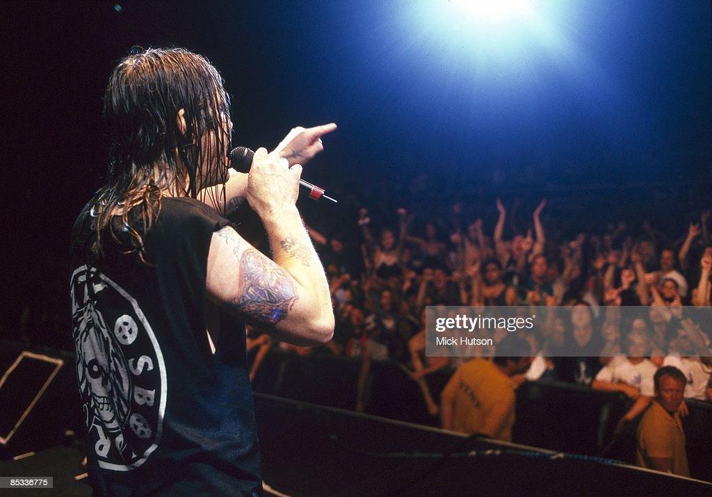 Photo of Ozzy OSBOURNE; Ozzy Osbourne performing on stage