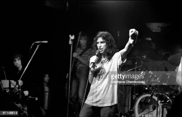 S Photo of Patti SMITH LR Richard Sohl Ivan Kral Patti Smith