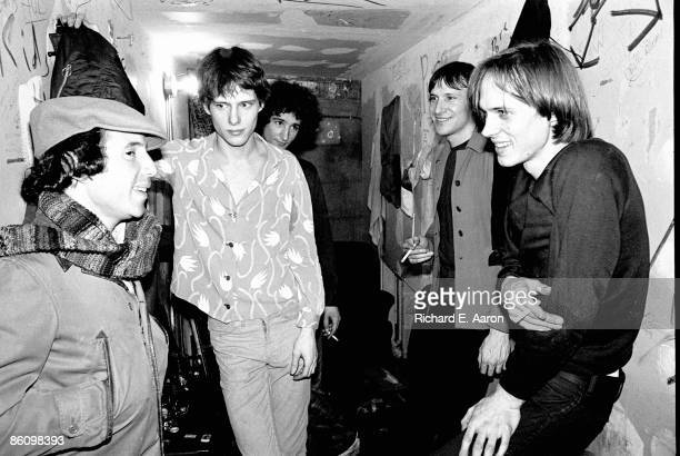 S Photo of Paul SIMON and TELEVISION Backstage with Paul Simon