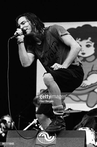 FESTIVAL Photo of PEARL JAM Pinkpop 1992 Pearl JamEddie Vedder