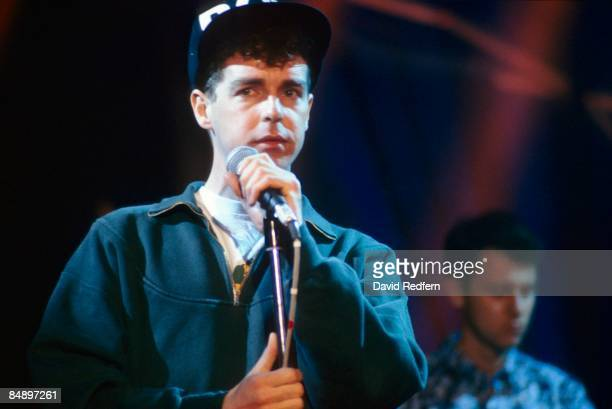 FESTIVAL Photo of PET SHOP BOYS and Neil TENNANT Neil Tennant performing on stage