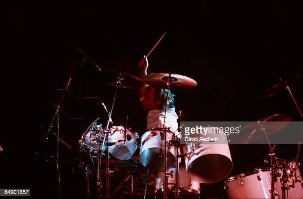 FESTIVAL Photo of Phil COLLINS Phil Collins performing on stage drums drummer