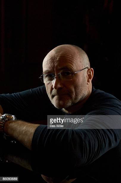 Photo of Phil COLLINS Posed portrait of Phil Collins