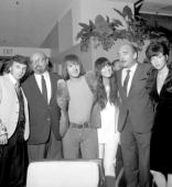 USA Photo of Phil SPECTOR with Ahmet Ertegun Sonny Cher
