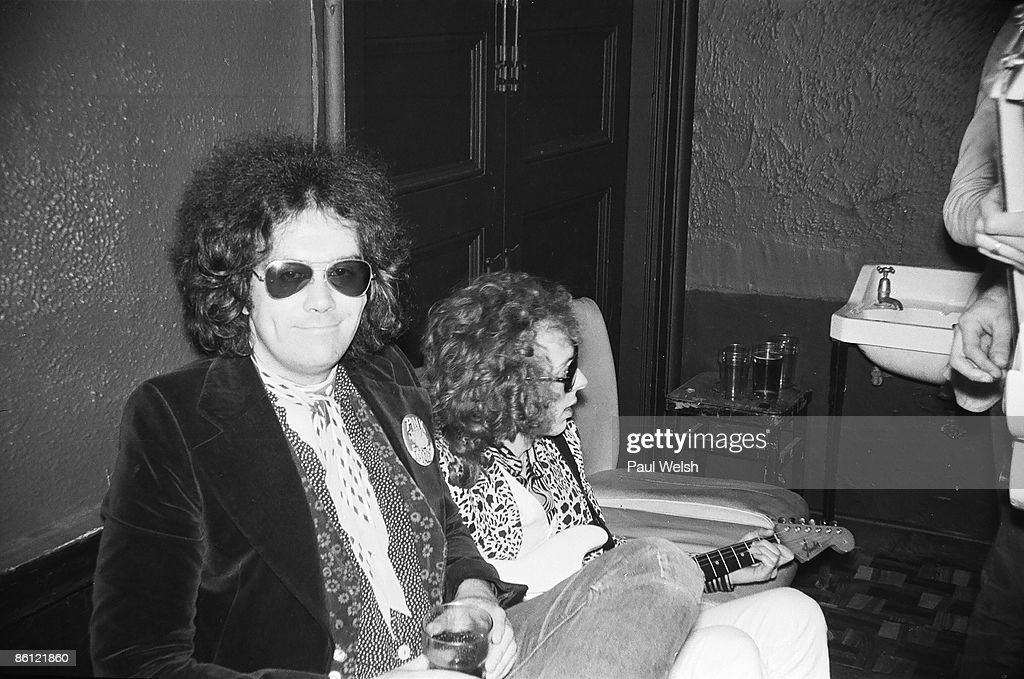Photo of PINK FAIRIES; Russell Hunter