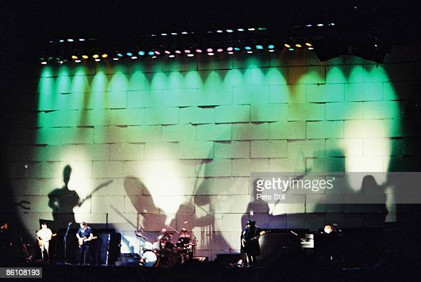 COURT Photo of PINK FLOYD performing live onstage The Wall Concert