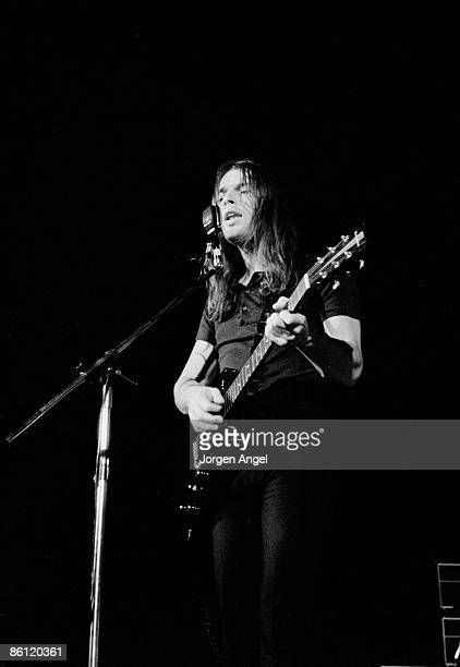 Photo of PINK FLOYD Pink Floyd David Gilmour Falkoner Teateret Copenhagen Denmark Nov70