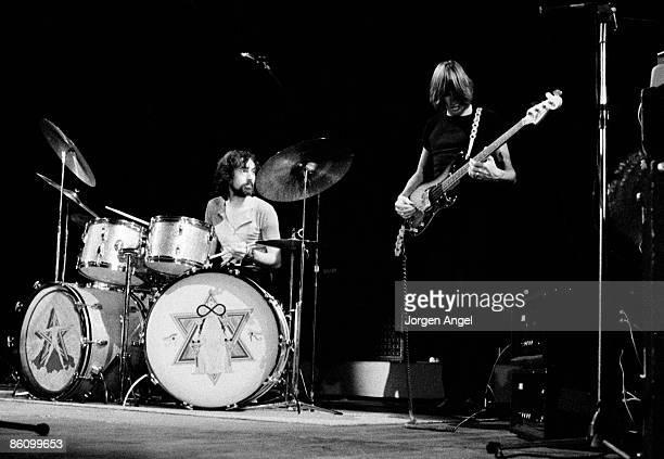 Photo of PINK FLOYD Pink Floyd Nick Mason Roger Waters Copenhagen Denmark November 1970