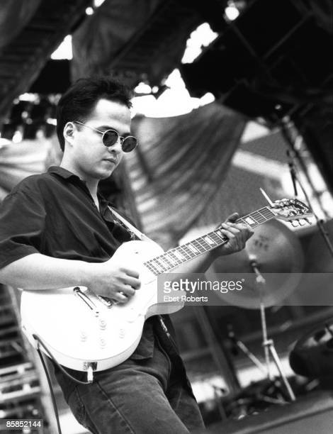Photo of PIXIES and Joey SANTIAGO Joey Santiago performing on stage